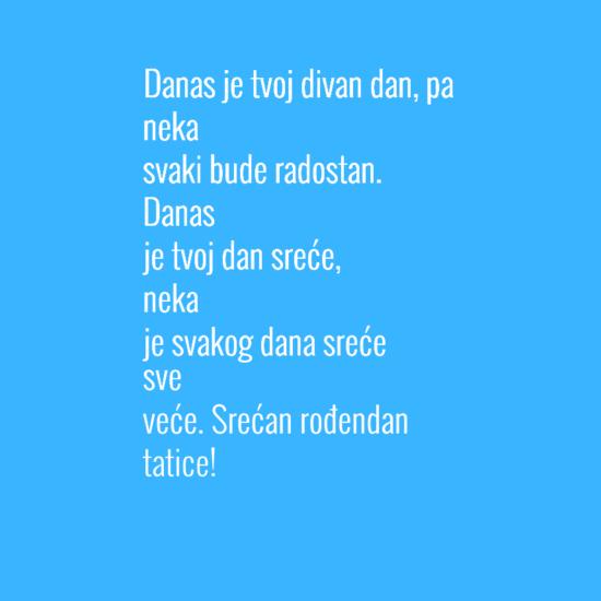 Smesni stihovi za 50 rodjendan