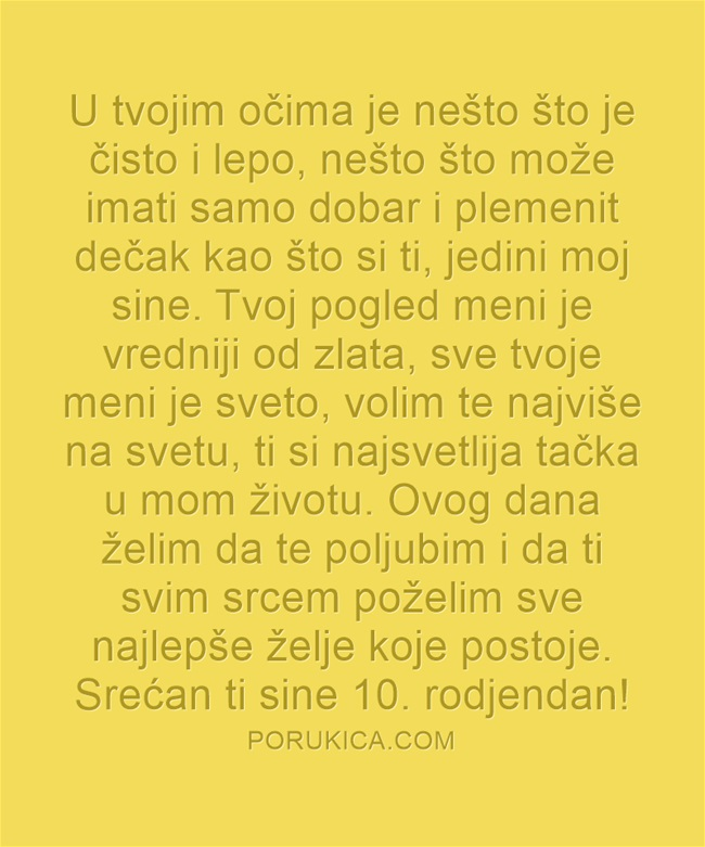 10. rodjendan
